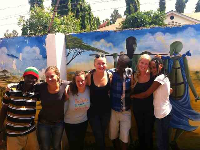 Fun times at rafiki backpackers