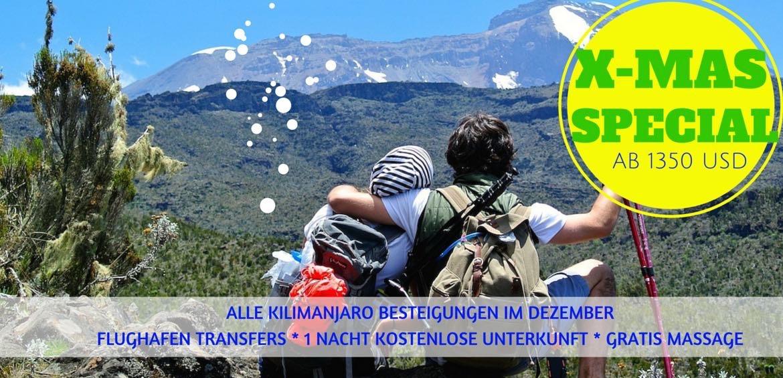 Kilimanjaro Weihnachtsspezial